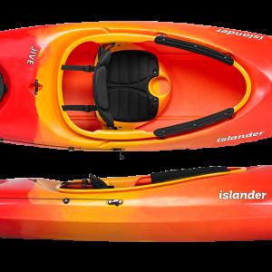 Islanders jive recreational kayak