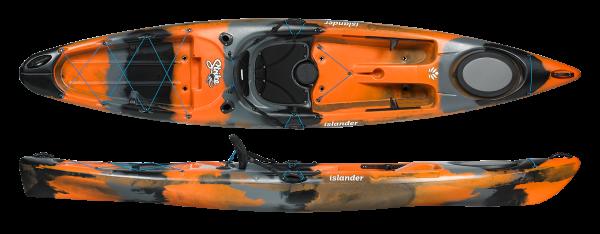 Islanders Strike Angler Kayak