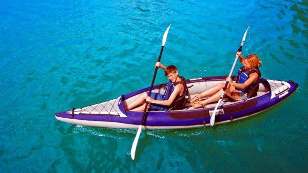 Inflatable Open kayaks